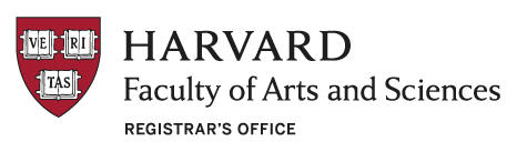 Harvard Faculty of Arts and Sciences Registrar's Office