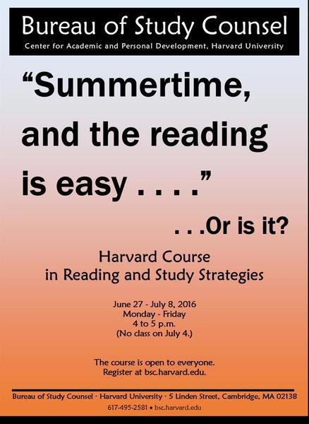 Harvard College Bureau of Study Counsel