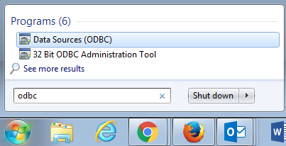 Setting up ODBC for Windows Users | Research Computing Grid