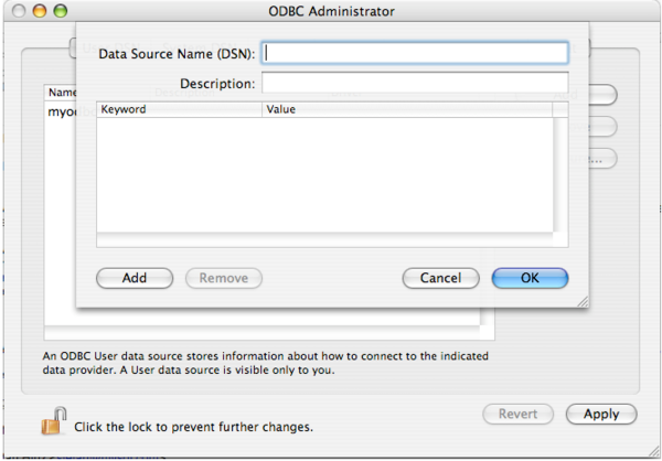 Setting up ODBC for Mac Users   Research Computing Grid