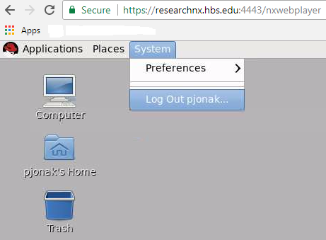GUI login to the Grid | Research Computing Grid Environment