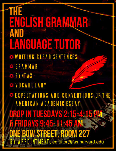 English Grammar and Language Tutor