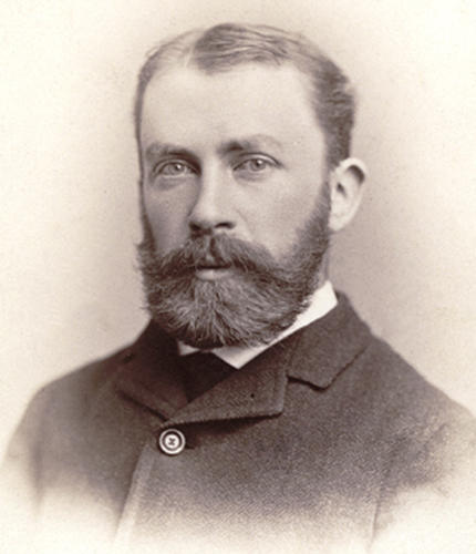 Ephraim Emerton, 1877 Winn Professor of Ecclesiastical History, photo courtesy of Andover-Harvard Theological Library