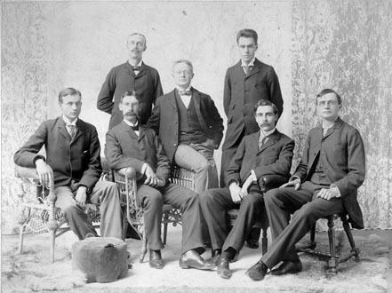 Harvard Divinity School Senior Class (1895)