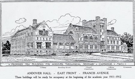 Andover Hall sketch