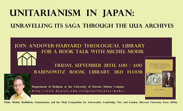 Book Talk - Sept. 28th, 1-3 in Rabinowitz Room
