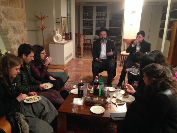 Sitting down with the ultra Orthodox