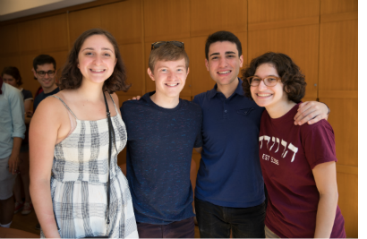 Student life at Harvard Hillel