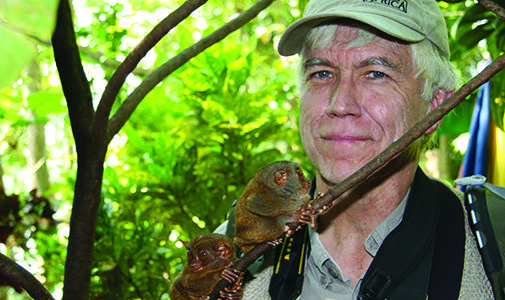 Conserving Biodiversity lecture image of speaker Russell A. Mittermeier