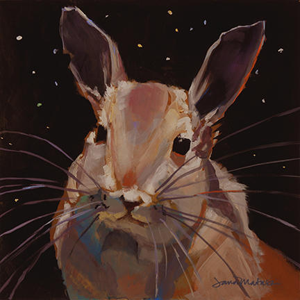 Painting of the Northern Mount Viscacha.
