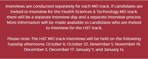 Interview Day   Medical Education - Harvard Medical School