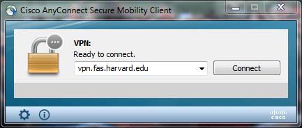 How do I connect to VPN Harvard University Information Technology