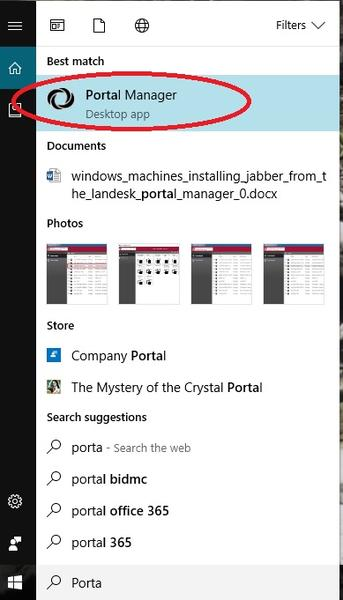 Landesk Portal Manager Windows 10