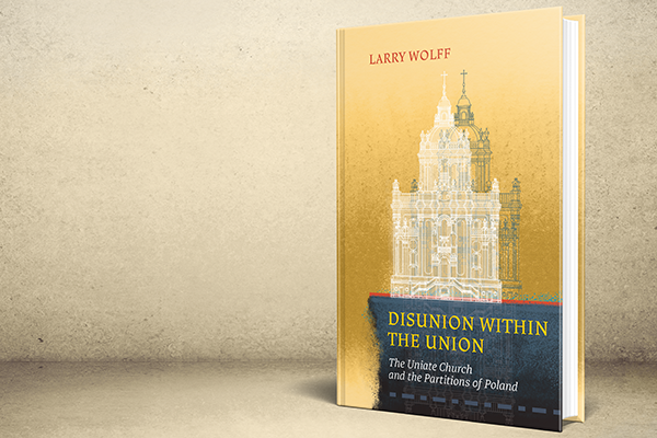 3D mockup of Larry Wolff's book