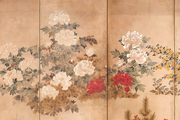 Artwork from the Painting Edo exhibition