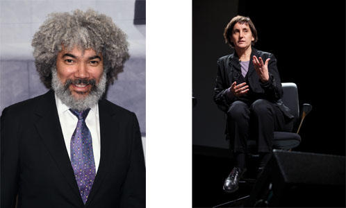 Left: Fred Wilson Photo by Andrew Walker; Right: Laura Kurgan