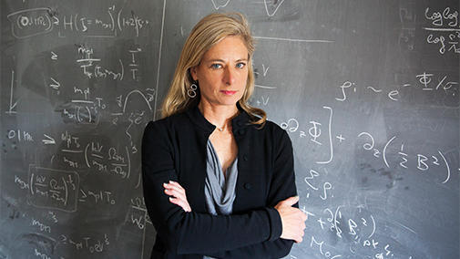 Image of Lisa Randall speaker for the Knocking on Heaven's Door: Scaling the Universe lecture