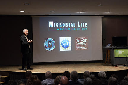 Lecture image from Microbial Life