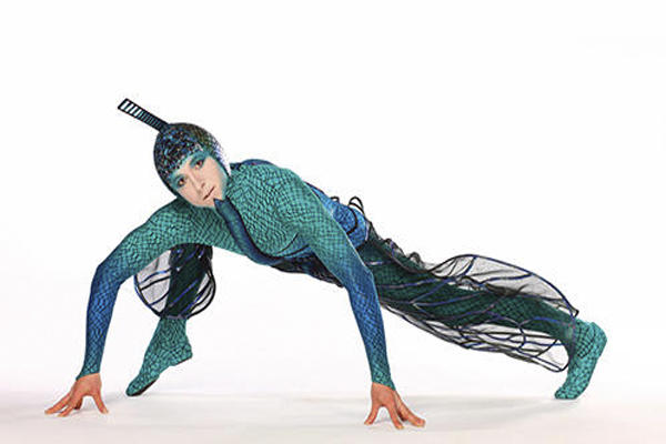 Image of Cirque du Soleil's character in OVO