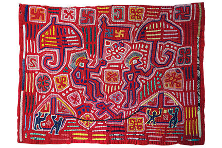 Mola (Panel from a Kuna Woman's Blouse)