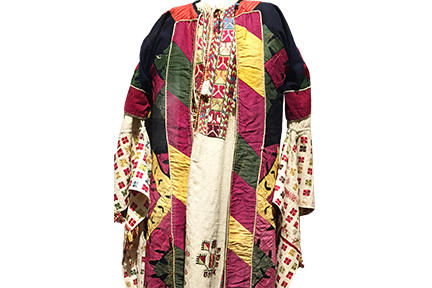 Women's Embroidered Dress and Jacket