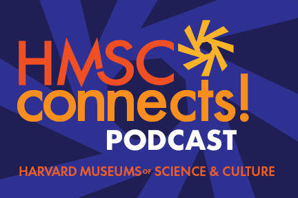 Text: HMSC Connects! Podcasts