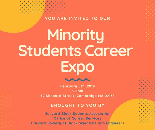 Minority Students Career Expo 2.8.19