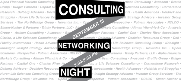 Consulting Networking Night Banner