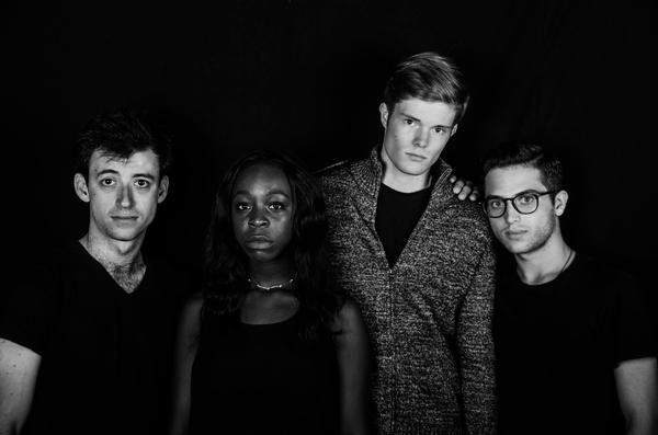 "The cast of ""The Submission"" PHOTO: Kyle McFadden '18"