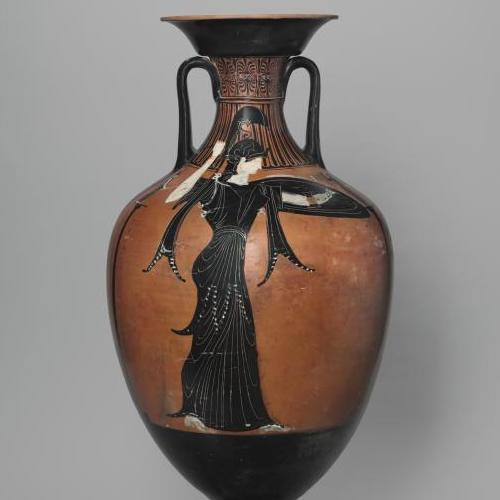 Panathenaic Prize amphora, storage jar