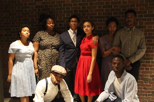 Cast of A RAISIN IN THE SUN Photo: BlackC.A.S.T.