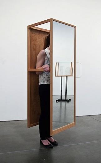 Walking Mirror 1 2012 © Josiah McElheny, Courtesy Andrea Rosen Gallery, New York