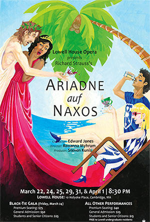 Lowell House Opera presents Ariadne Auf Naxos