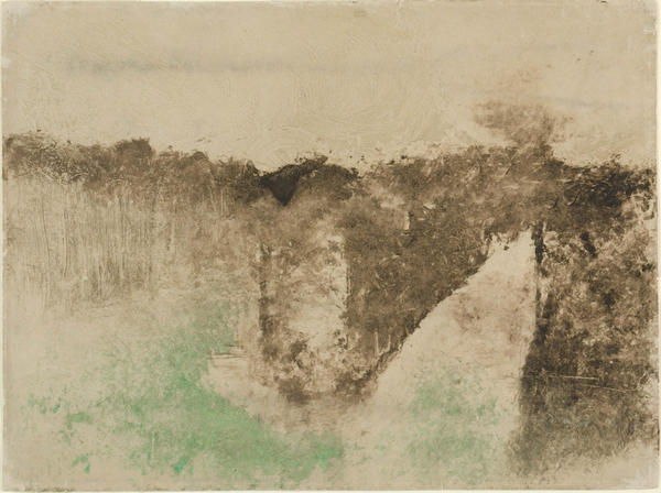"""Road in the Forest"" by Edgar Degas"