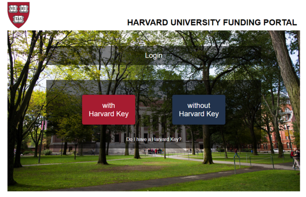 Harvard University Funding Portal (HUFP) | Office of the
