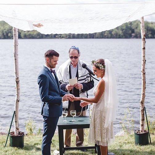 Waterside Jewish Wedding