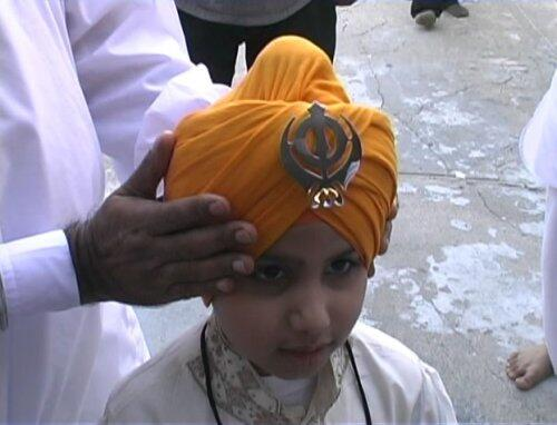 A still of a scene from Dastaar: Defending Sikh Identity