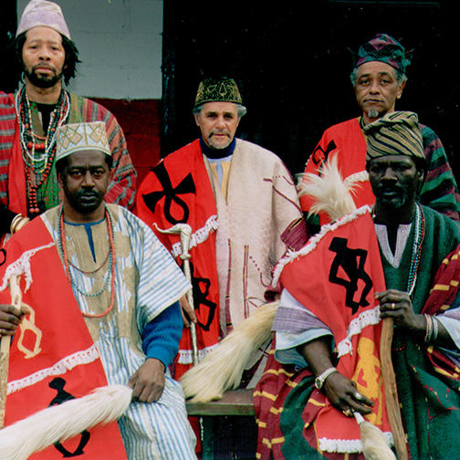 Elders of Oyotunji in Ceremonial Dress