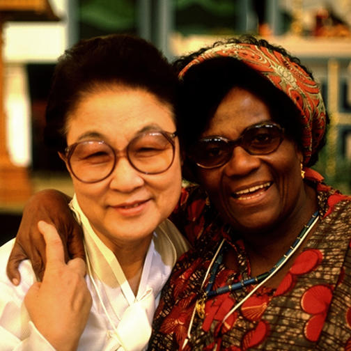 Christian Women from Ghana and Korea