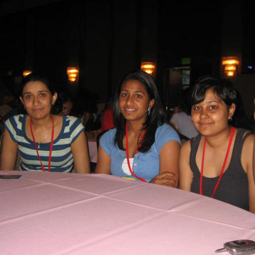 Attendees at Young Jains of America Convention