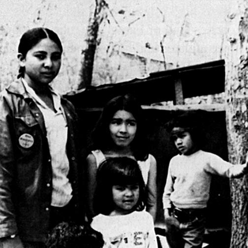Mashpee Children at Survival Camp, 1978