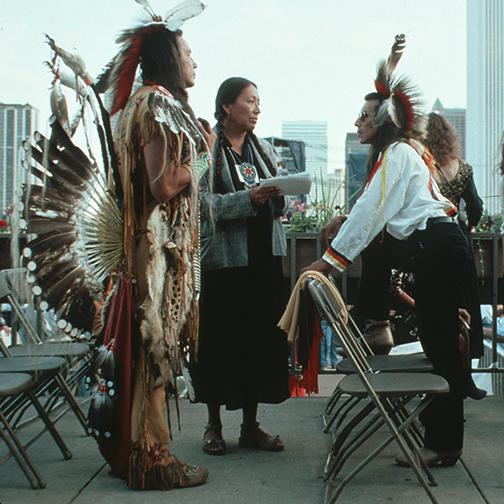 Native Americans at the Parliament of the World's Religions