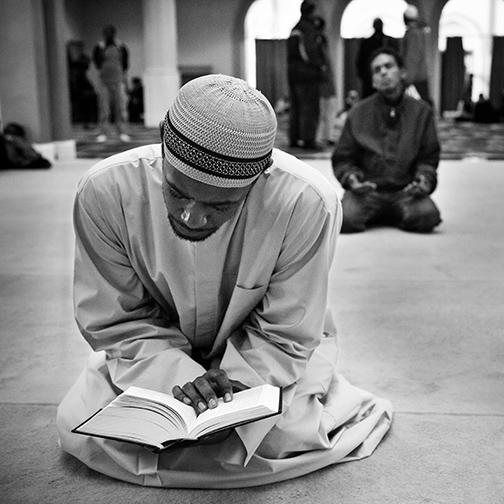 Person Reciting the Qur'an