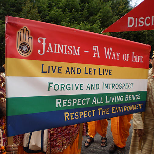 Banner Depicting Principles of the Jain Tradition
