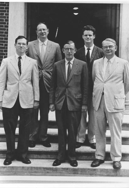 Founders of the Harvard Statistics Department