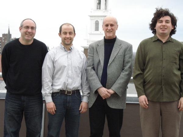 Michael Parzen, Kevin Rader, David Harrington and Joseph Blitzstein