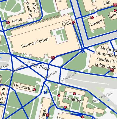 Campus Map University Disability Services