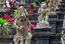 Indonesian statues