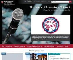 Government Innovators Network portal