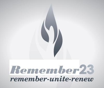 Logo for remembrance.